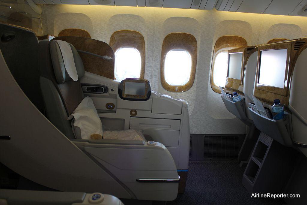 emirates business class seat 777 300 Google