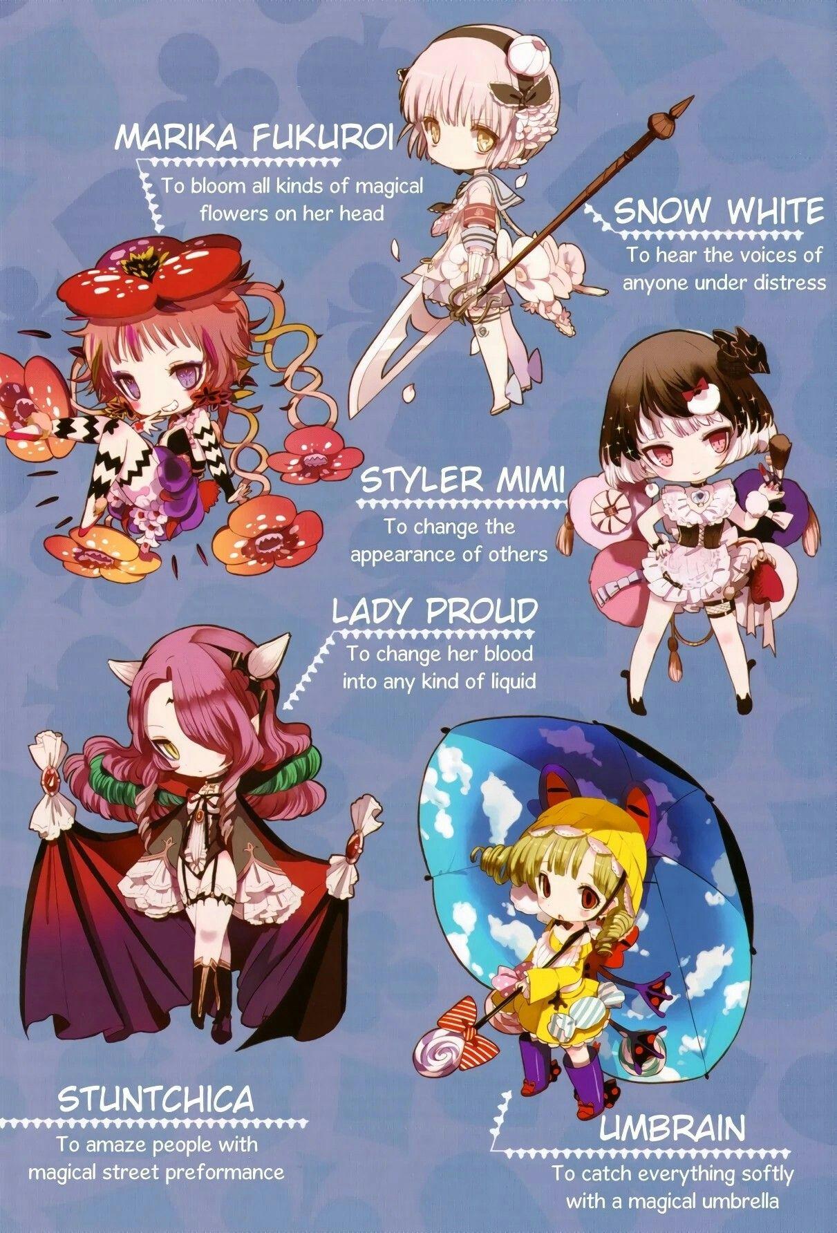 Mgrp Jokers Magical Girls 3 Magical Girl Raising Project Magical Girl Anime Chibi