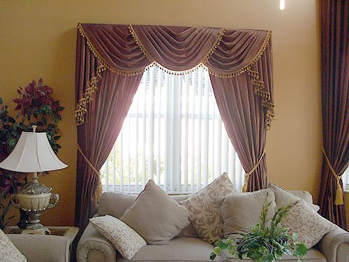 Curtains and valances and windows blinds miami draperies curtains valances