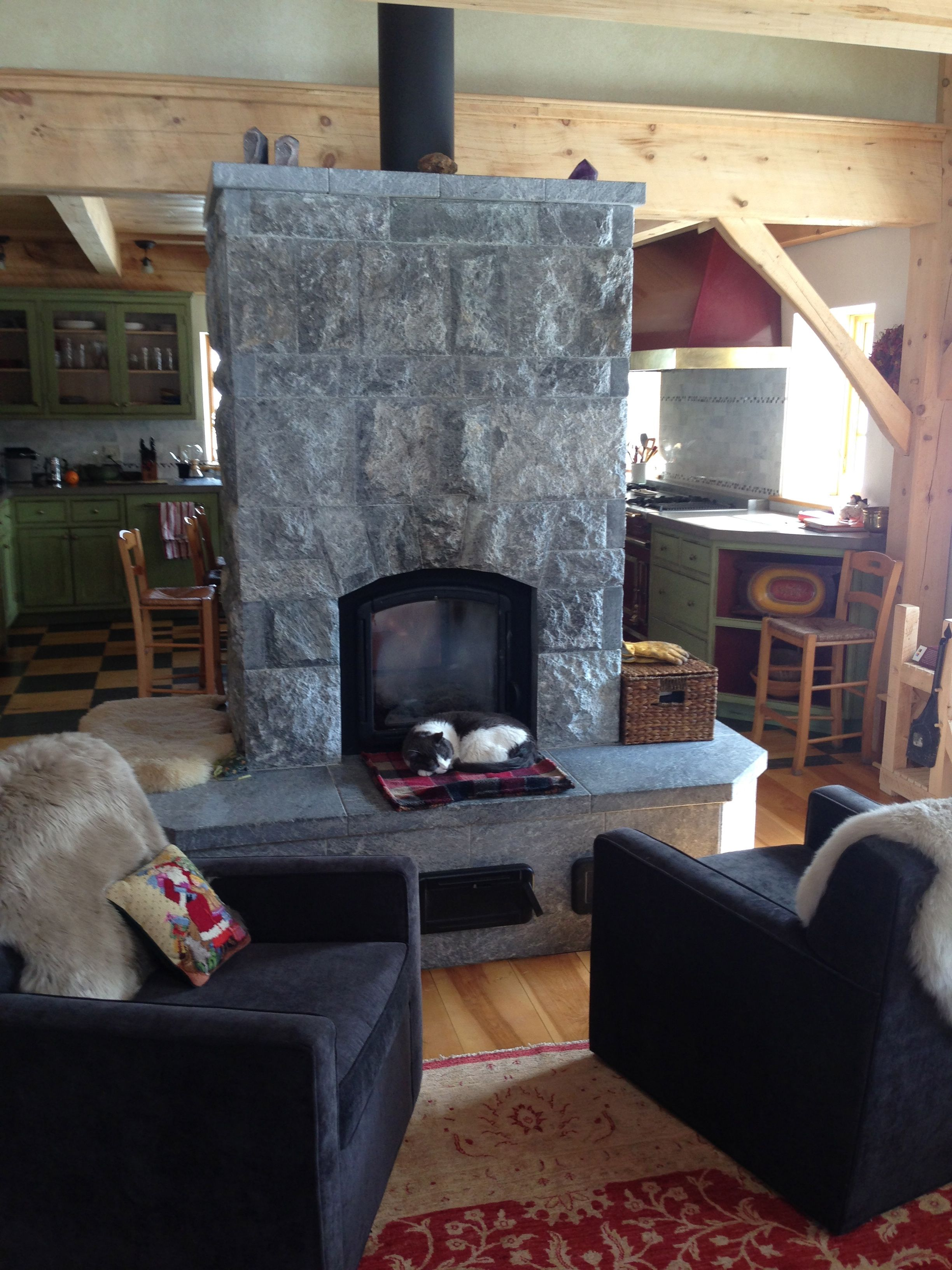 Soapstone Masonry Heater   Wood Heat   Heat Your Home ...