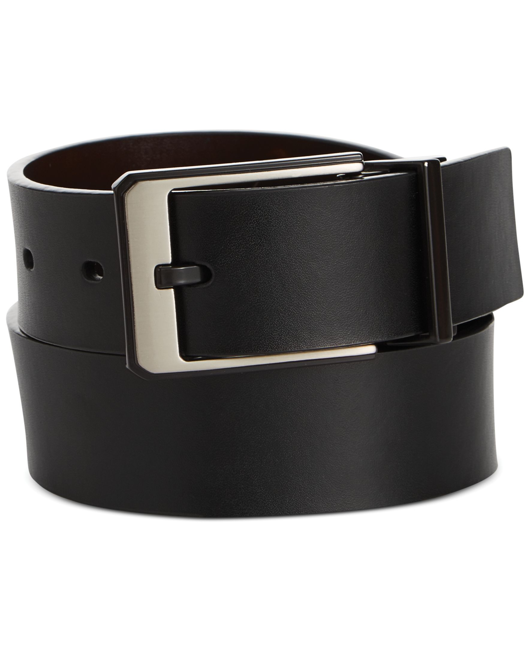 Perry Ellis Night and Day Reversible Leather Belt | Products ...