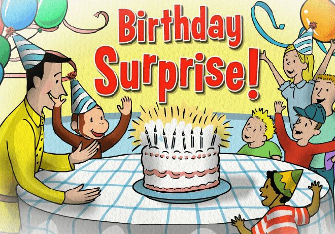 Play Curious George's Birthday Surprise! In this online game