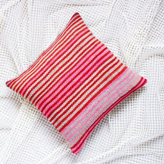 PERUVIAN PILLOW COVER Throw Pillow Boho Decor By WeKnitColor Simple Peruvian Decorative Pillows