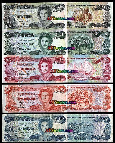 Bahamas Currency Banknotes Paper Money Catalog And Bahamian