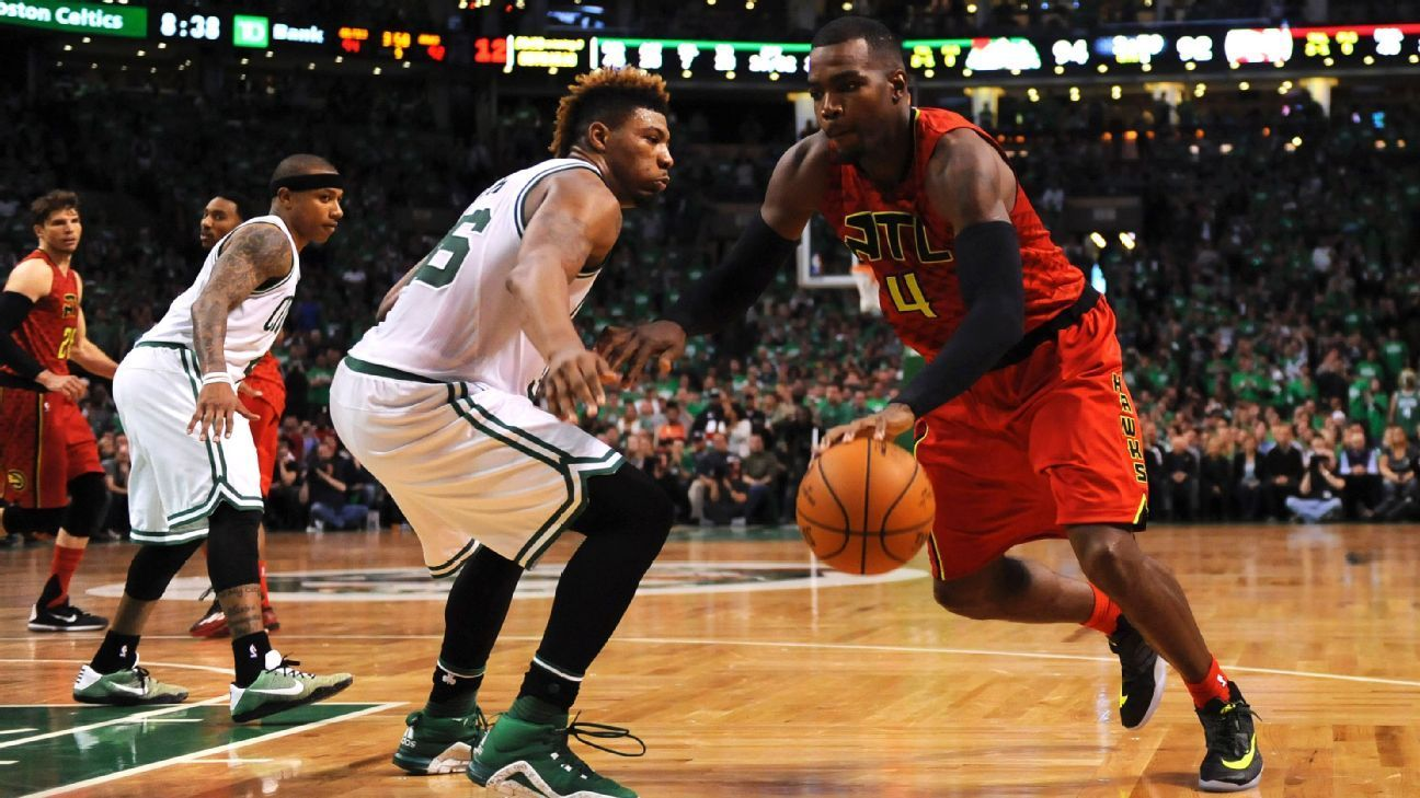 Marcus Smart rallied the Celtics with 11 fourth-quarter points, but he was especially key late, when he stymied Paul Millsap, who had been sizzling.