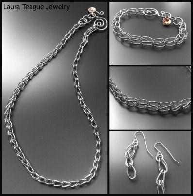 #handmade #silver #jewelry www.laurateague.com