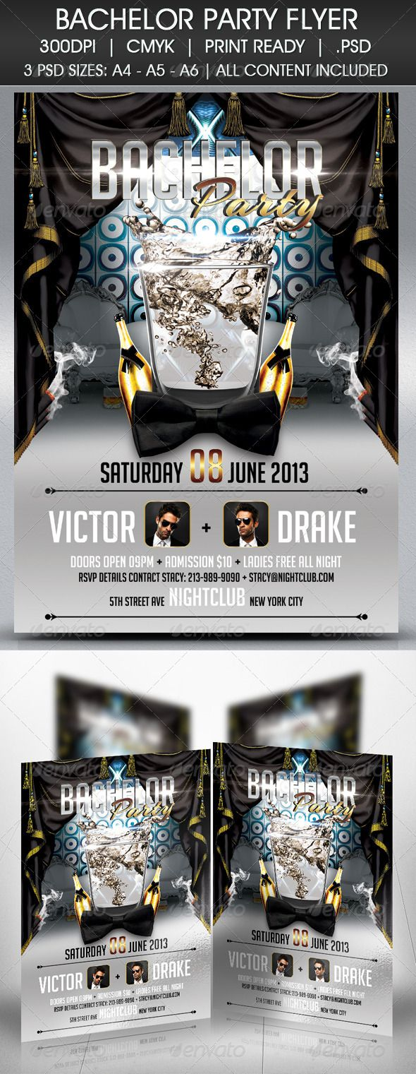 Nightclub or Party PSD Template found here http://graphicriver.net/item/bachelor-party-flyer/4682054