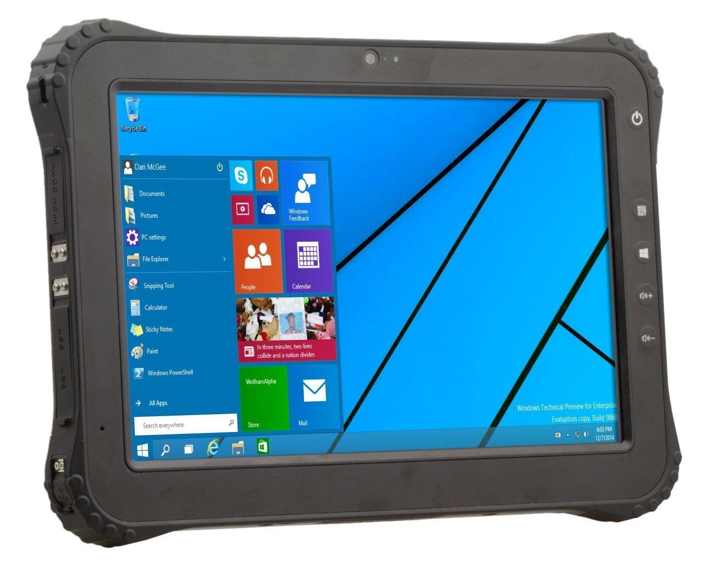 Vanquisher 10 Inch 4g Lte Rugged Tablet Pc Windows Intel Atom X5