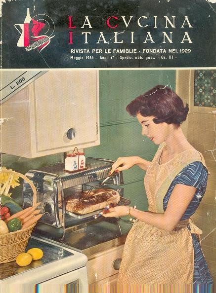 La Cucina Italiana 51956  Magazine Covers  Kitchen Recipes e Vintage kitchen