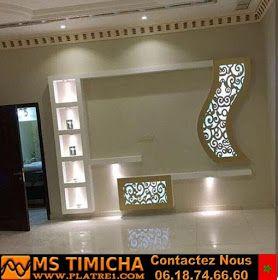 Decoration Platre Tv Design Decoration Platre Deco Meuble Tv Decoration Placoplatre