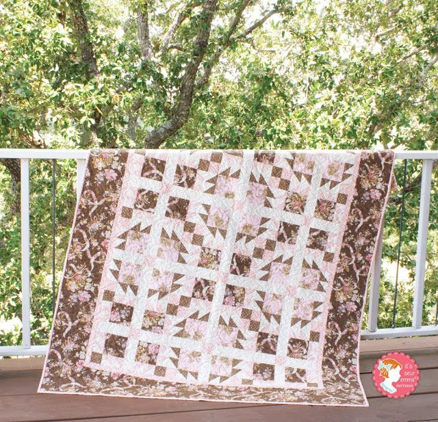 Rose Cottage Quilt featuring Incense & Peppermints by Robyn ... : rose cottage quilt shop - Adamdwight.com
