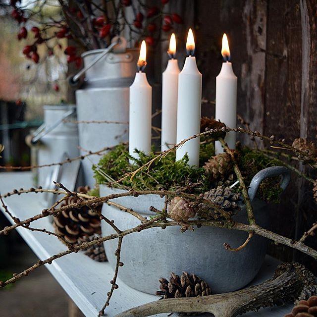 """Photo of Emma & Gardeners on Instagram: """"Der vierte Advent ist zwar noch nicht, aber ich kann es nicht abwarten Euch das Foto zu posten 😅. Habt es fein 😘🙋🏻. #hyggehome #diyxmasdeko…"""""""