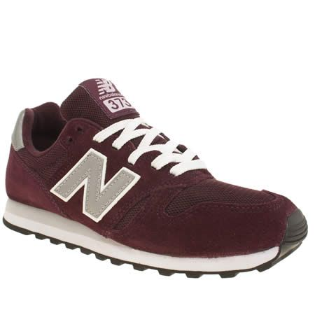 new balance 373 maroon blue