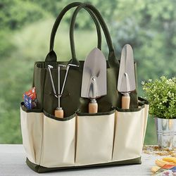 Nice My Garden Personalized Garden Tote With Tools