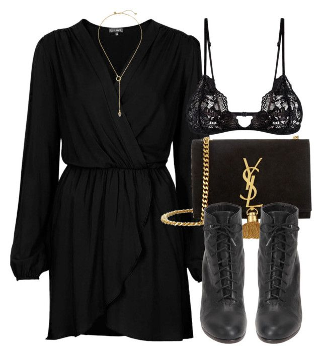 Untitled #6723 by laurenmboot on Polyvore featuring Love, Mosmann, rag & bone, Yves Saint Laurent and Zimmermann