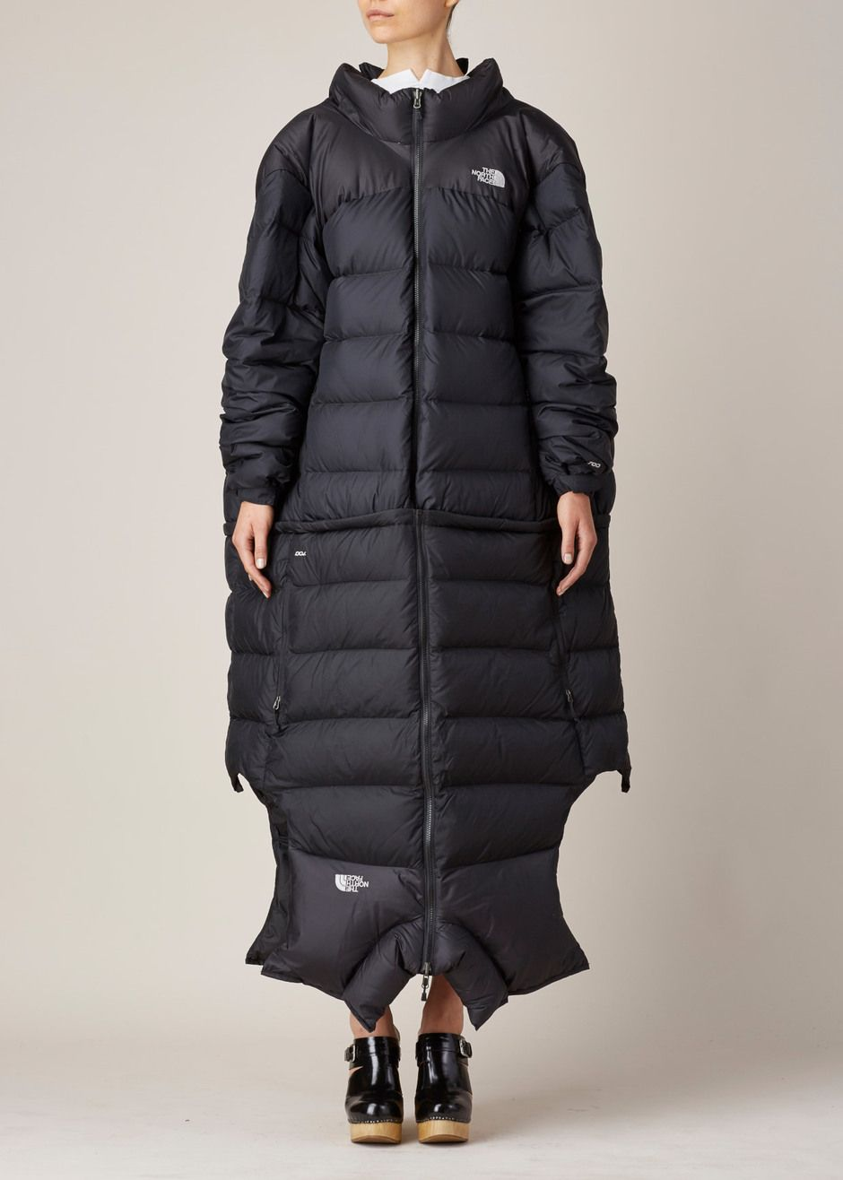 Oversized parka cocoon shaped loose warm thick duck down jacket ...