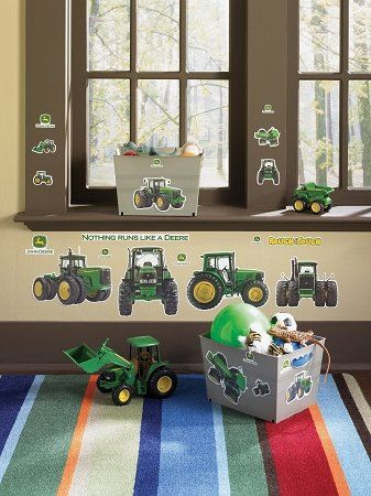@Linda Bruinenberg Lamey @Bonnie S. SimcoxJohn Deere Wall Decals For Kids  Rooms