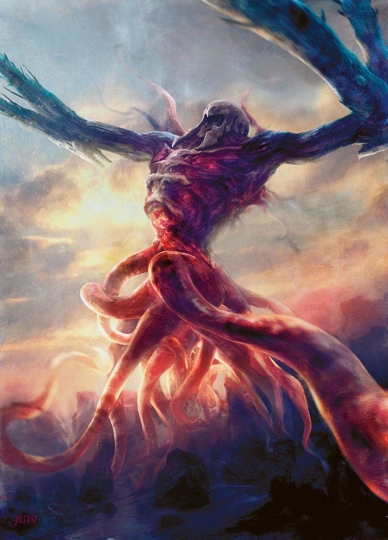 Ulamog, the Infinite Gyre - MtG Art