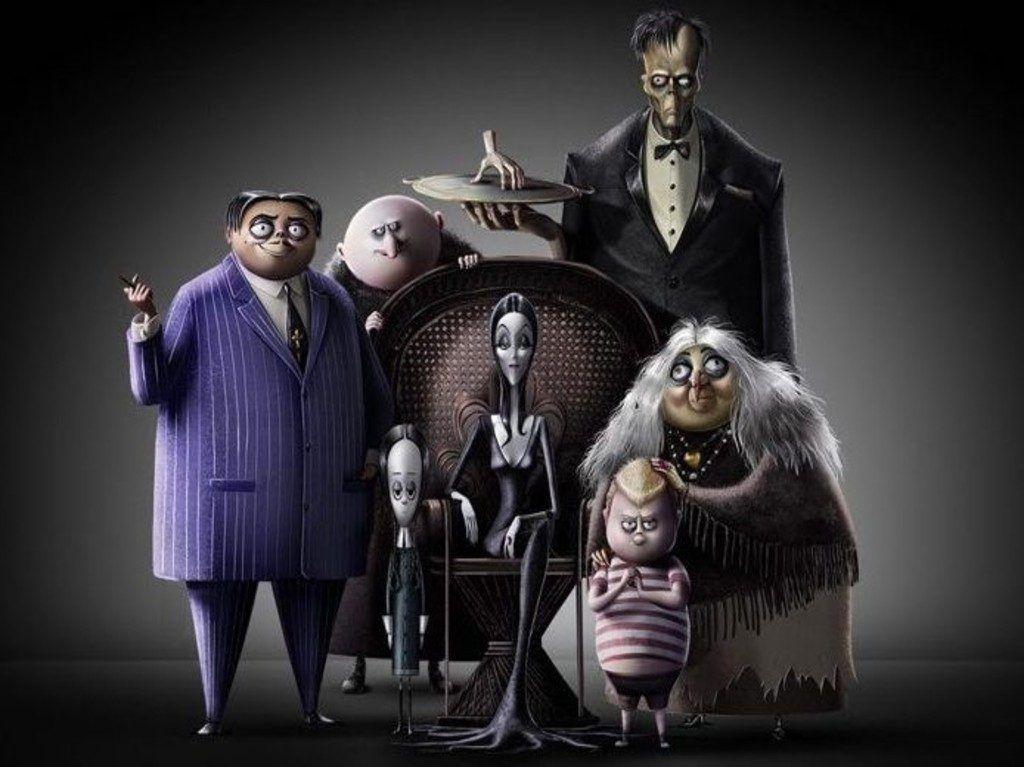 Los Locos Addams Lo Bueno Lo Malo Y Lo Feo La Familia Addams Personajes Animados Fotos De Leones