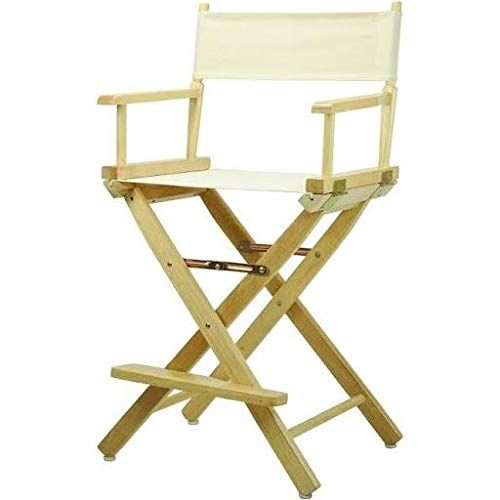 24 Inch Folding Chairs.Natural Finish 24 Inch Director S Chair Wheat Home