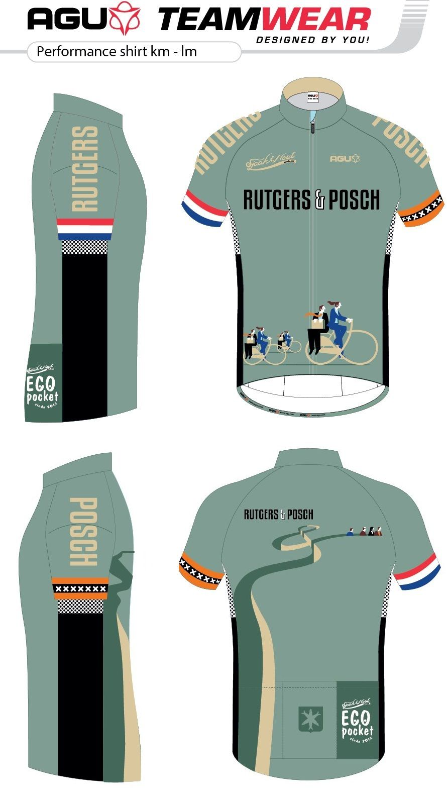 Cycling shirt design your own - Design Your Own Cycling Jersey By Agu Customized Cycling Apparel Designed For Rutgers