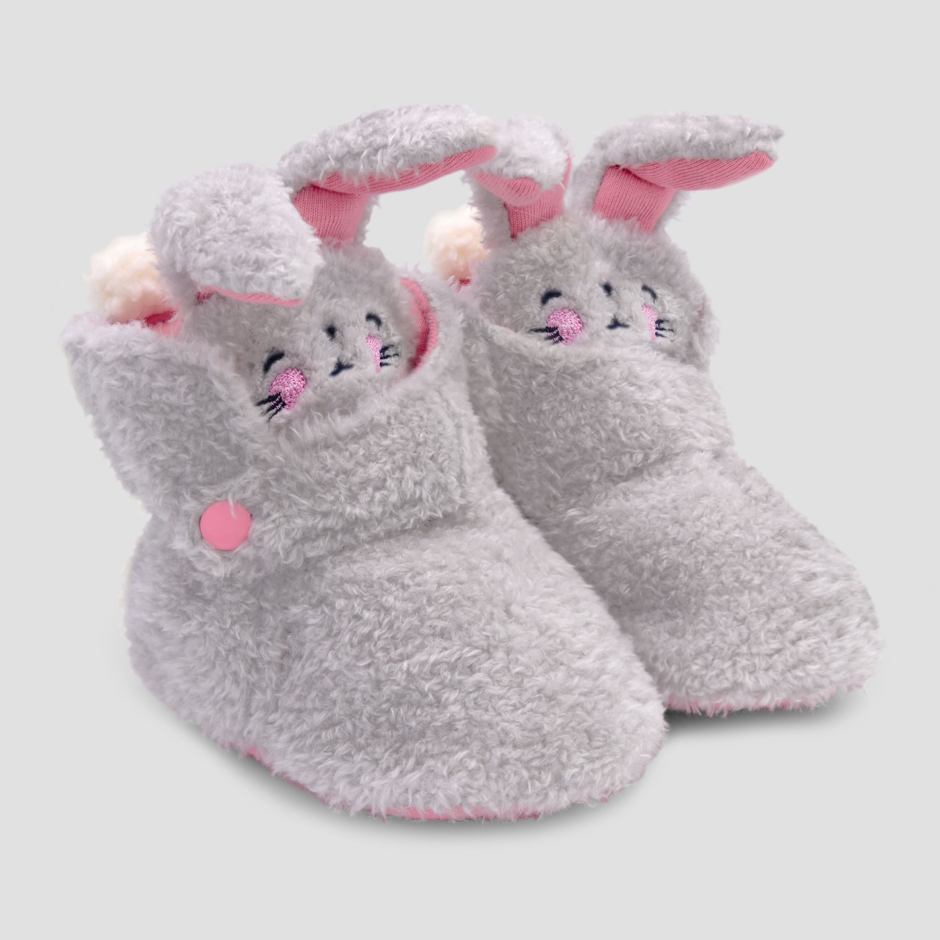 dc0b0cb0df Baby Girls  Bunny Bootie Slippers with Snap - Cat   Jack™ available at  Target!