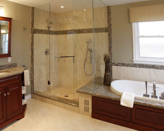 Decor N Tile Pleasing Open Tiled Showers Design Pictures Remodel Decor And Ideas Decorating Design