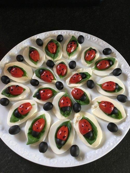 Tomate-Mozzarella-Marienkäfer von Chefkoch-Video | Chefkoch