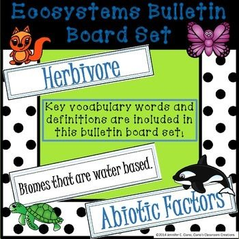 Ecosystems Bulletin Board Review Game Review Games Bulletin