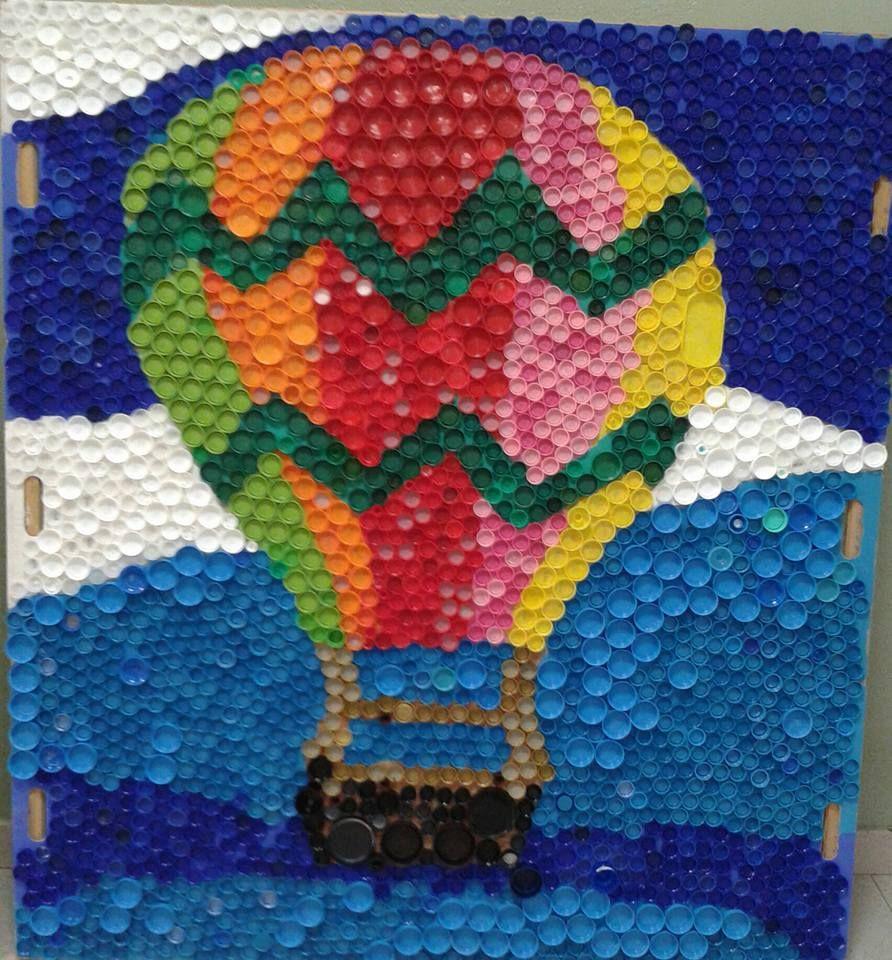 Come Costruire Un Mosaico classe terza primaria - mosaico con tappi di plastica | idee