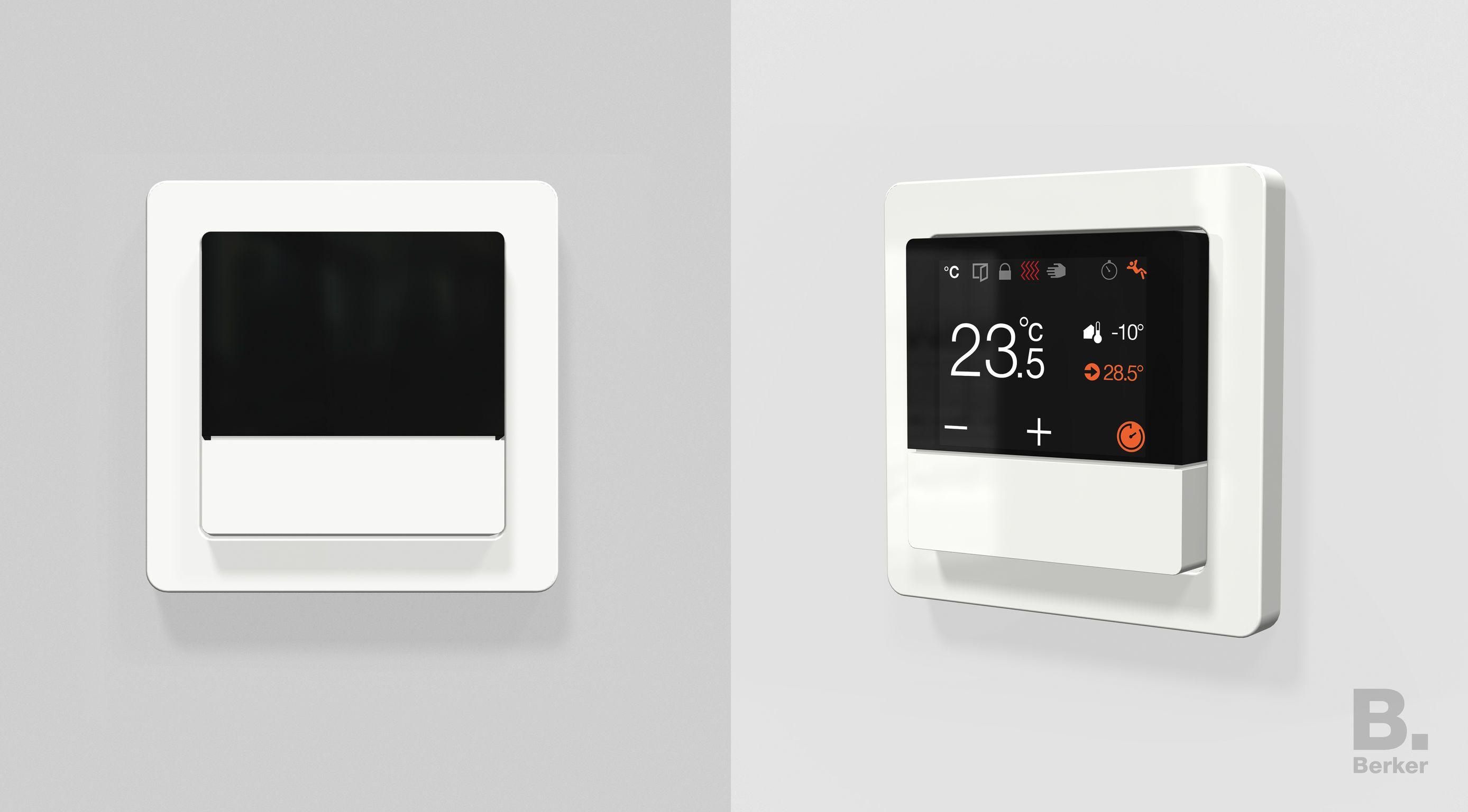 Berker Knx Raumcontroller Iot Design Home Automation Devices Design