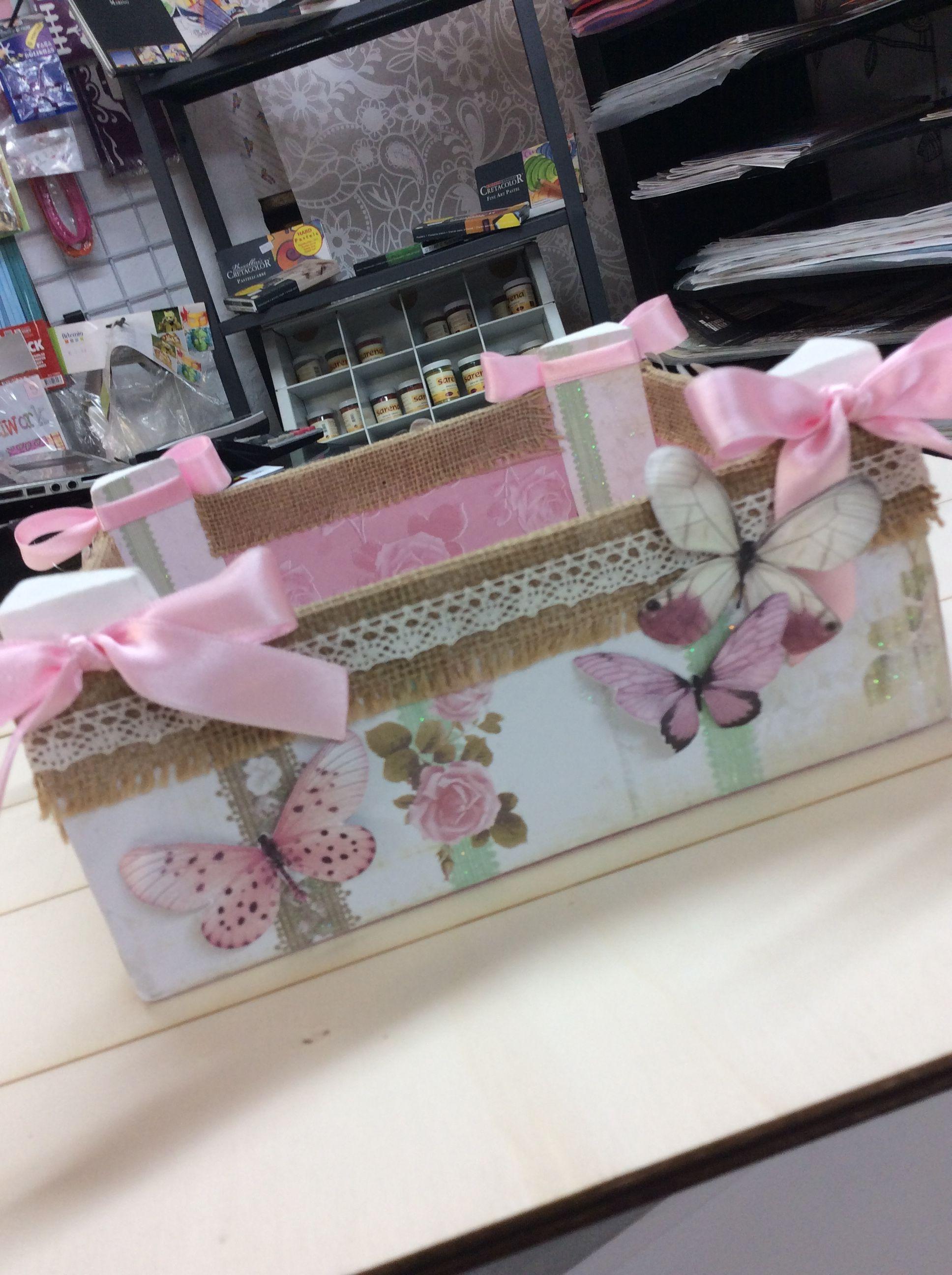 Pin de noelia en manualidades pinterest cajas caja de - Manualidades con cajas de madera de frutas ...