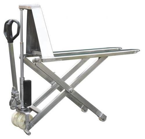 Stainless Steel Hand Jack : High lift hand pallet truck kg capacity