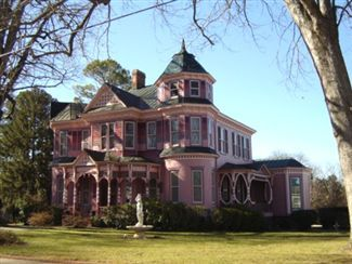 E.L Evans House for sale in South Boston, VA Historic Victorian Painted Lady $459,000