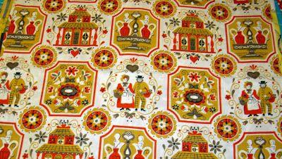 Fabric Friday - Vintage Kitchen - Freda's Hive