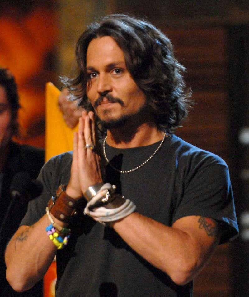 Johnny Depp Humble Spirit-friend '