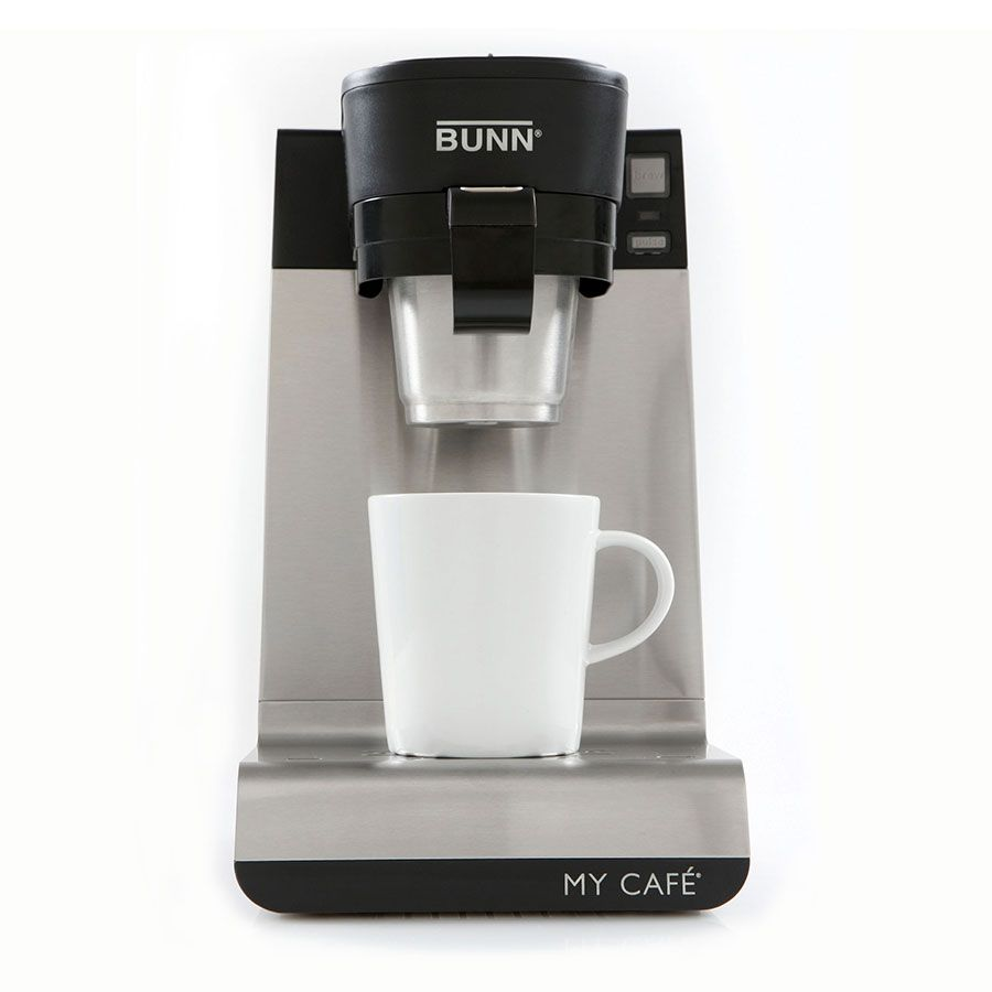 Bunn Home 42900 0201 My Cafe Mcu Brewer W Up To 14 Oz Serving 4 Drawer Stainless Single Coffee Maker Single Serve Coffee Makers One Cup Coffee Maker