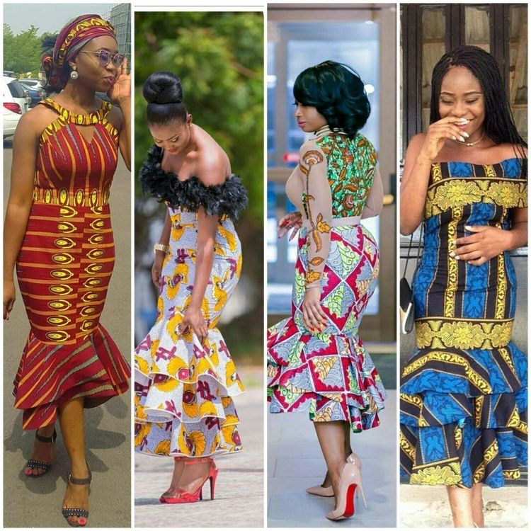 Pin By Regina Barbara Entsie On Africa Print Styles In