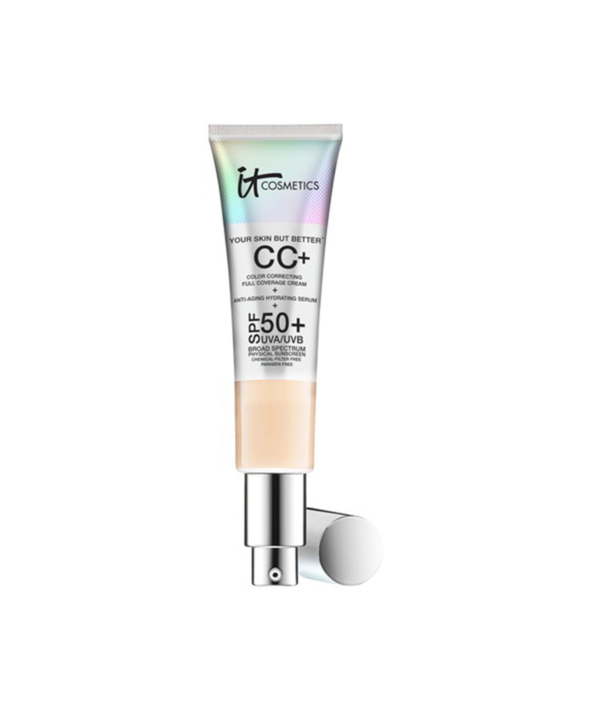 The 11 Best Foundations For Dry Sensitive Skin According To Pros Cc Cream It Cosmetics Cc Cream Best Cc Cream