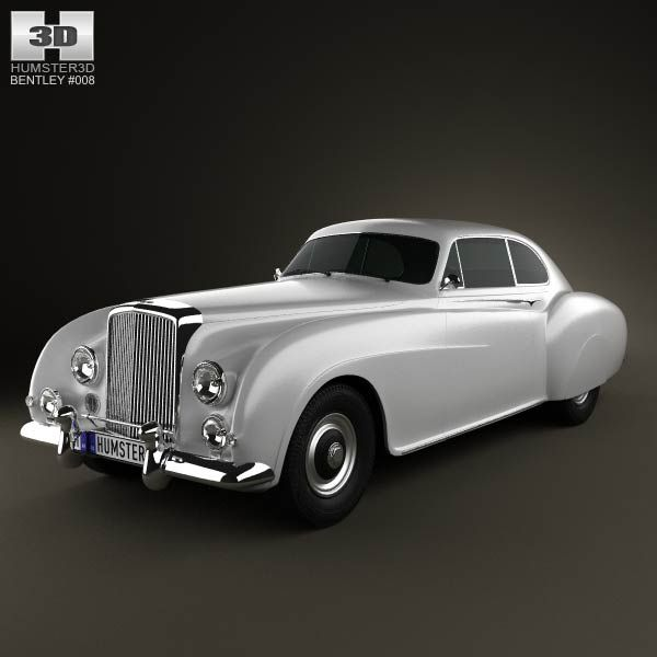 Bentley R-Type Continental 1952 3d Model From Humster3d
