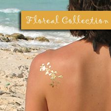 GoldTattoosUS - Floreal Tattoo Collection