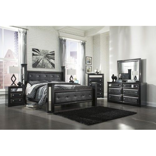Signature Design by Ashley Alamadyre King Bedroom Group - Miskelly ...