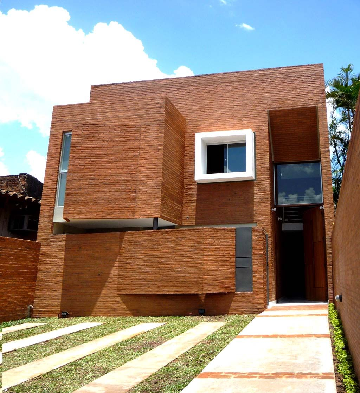 Casa 23  Arquitectoscompy  Paraguay Galera Social