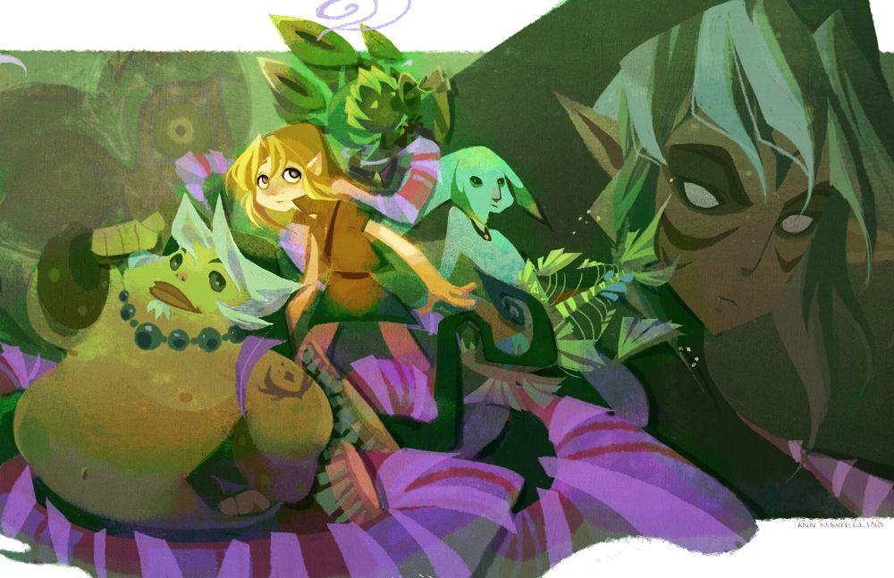Masks Of A Different Kind By Nna Legend Of Zelda Majora S