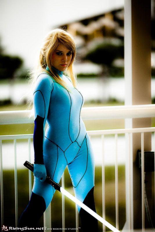 Zero samus suit cosplay aran