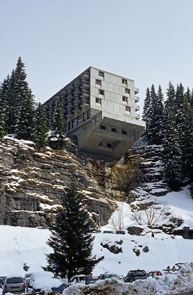 Marcel Breuers Hotel La Flaine from This Brutal World Photography