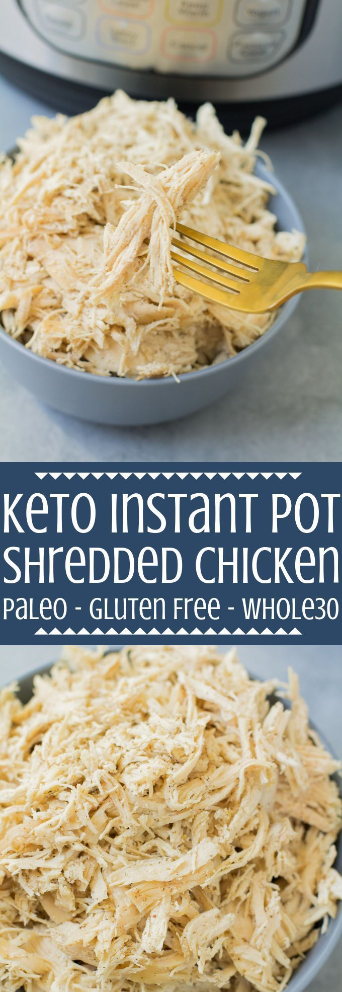 Easy Instant Pot Shredded Chicken images