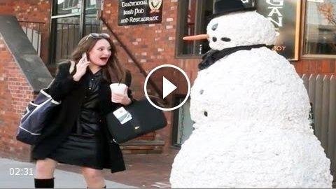 Funny – Funny Scary Snowman Prank – Season 3 Episode 5