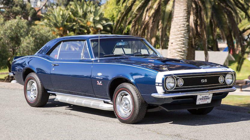 1967 Chevrolet Yenko Camaro 427 450hp 4bbl V8 W Sidepipes Close