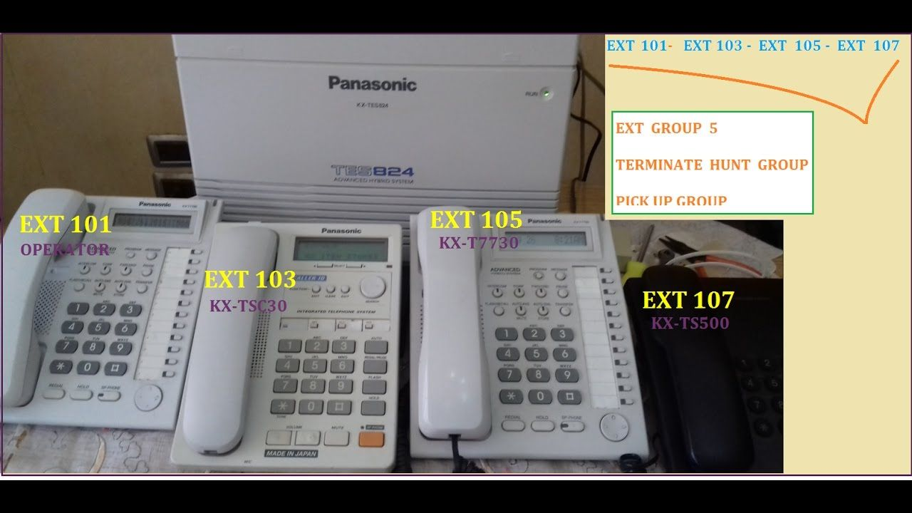 part 824 1 1 landline phone [ 1280 x 720 Pixel ]